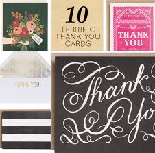 Modern Etiquette Thank You Dos And Donts 10 Cute Thank You Cards