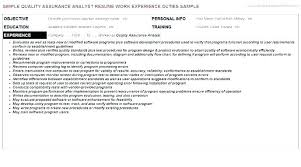 Quality Analyst Cover Letter Frankiechannel Com