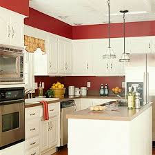 Best 20 Red Kitchen Walls Ideas On Pinterest Cheap Kitchen Amazing Red And  White Kitchen Cabinets
