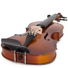Cecilio <b>Full Size 4/4</b> CVN-300 Ebony Fitted Solid Wood <b>Violin</b> w/D ...