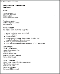 Create Free Printable Resume Acting Templates Free Audition Resume Excel Best Template