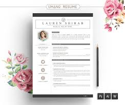Pretty Resume Templates Free Resume Template Free Cover Letter For Word Ai Psd Diy Creative 21