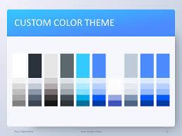 Blue Powerpoint Theme Blue Gradient Powerpoint Template Presentationgo Com