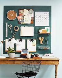 Clever office organisation 29 diy office table Command Get Hooked On This Overthedesk Pegboard Organiser All You Need Is Sheet Of Masonite Pegboard Various Hooks Table Chair And Desk Lamp And Youre In Pinterest Get Hooked On This Overthedesk Pegboard Organiser All You Need Is