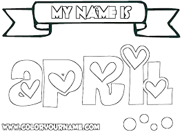 Make Your Own Name Coloring Pages Name Coloring Pages Make Your Own