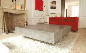 how to make concrete coffee table concrete coffee table concrete coffee table top diy