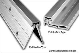 offset piano hinges. continuous gear hinges offset piano
