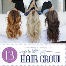 13 Way To Help Your Hair