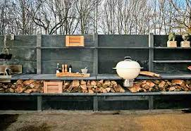 WWOO is a modular concrete customizable outdoor kitchen that, with  modifications, morphs into a multipurpose station for not just cooking, but  for gardening ...