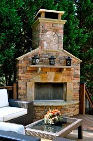 accessories extraordinary outdoor living room decoration using cream outdoor stone fireplace along with black