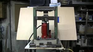 do it yourself 20 ton hydraulic forging press