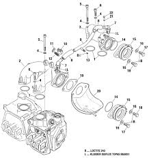 912 914 Intake Manifold Compensating Tube Assy. Rubber Flange.