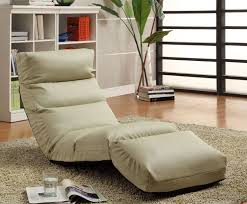 gaming lounge chair for bedroom in ash green made of fabric
