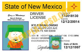 Drivers License New State Is Mexico usa photoshop Psd This BwqxXFH1