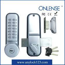 full image for mechanical door locks mechanical punch code door locks mechanical code keypad sliding door