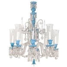 baccarat chandelier baccarat opaline glass and crystal twelve light