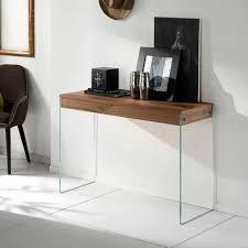 Design Konsolentisch Eichebraun Glas Konsolentische Online Kaufen Möbel