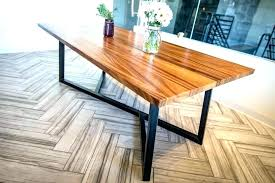 wood top metal base dining table dining table metal legs wood top wood table with metal legs monkey pod wood table with dining table metal legs wood top