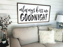 Magnificient farmhouse master bedroom decor design ideas Ceiling Farmhouse Master Bedroom Signs Style For Always Kiss Me Goodnight Wooden Above Bed Design Ideas Agreeable Oicct Cool Interior Design Farmhouse Master Bedroom Signs Style For Always Kiss Me Goodnight