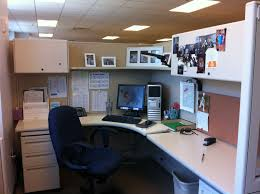 Decorating Office Desk Awesome Cubicle Decorating Ideas By Office