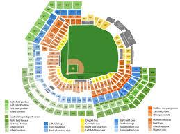 Cincinnati Reds Seating Chart Cincinnati Reds Vs St Louis Cardinals At Busch Stadium On