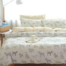 dog bed duvet covers cartoon dog bedding set cotton teenage children kid boyfull queen character home
