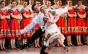 folk dance horovod and traditional russian culture gettin  folk dance horovod and traditional russian culture