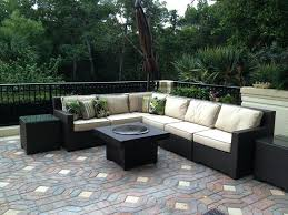 stunning patio sets with fire pit table patio furniture with gas fire pit