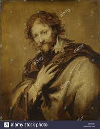 portrait of a man identified as peter paul rubens painter and diplomat work