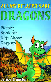 alice cussler s children s book introduces dragon family from far and wide draco is visiting so let your kids know