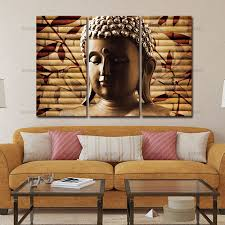 buddha art canvas painting decor wall art buddha picture landscape canvas painting modern living room decorative in painting calligraphy from home