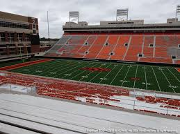 Boone Pickens Stadium Interactive Seating Chart Boone Pickens Stadium View From Upper Level 330 Vivid Seats