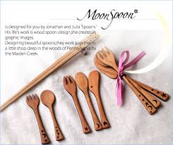carefully made in the studio is surrounded by forest in pennsylvania is baby cutlery set designed authors jonathan and julia 2 made with cherry