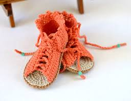 Crochet Baby Sandals Pattern Enchanting 48 Great Crochet Baby Gladiator Sandals Pattern