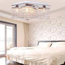 2018 hot hanging crystal linear chandelier pendant lights solid metal fixture modern flush mount ceiling light fixture for dining room bedroom from