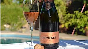 Ferrari brut rose is salmon pink in color. Shake Summer Doldrums With Trentino S Mountain Bubblies Grapefully Yours Wine Blog Grapefully Yours Wine Blog