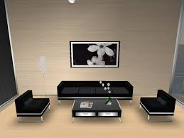 Simple Sofa Set Designs For Living Room - Black furniture living room