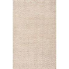 vania chevron jute bleached 8 ft x 10 ft area rug