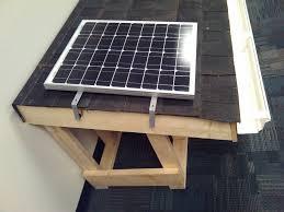 solar panel fan kit pictures
