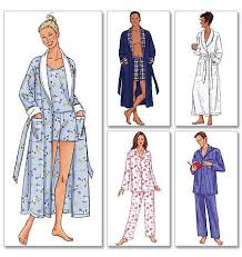 Robe Sewing Pattern Unique Sewing Patterns Sleepwear Pyjamas Gowns Robes Jaycottsco