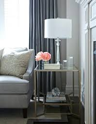 glass side tables for living room metal glass side table grey curtains pink accent small glass side tables for living room uk