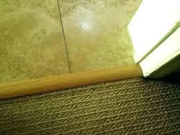 carpet threshold strips carpet to tile threshold carpet to tile transition strip tile floor transition strips