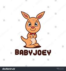 Kangaroo Character Design Cute Little Kangaroo Mascot Character Design Royalty Free