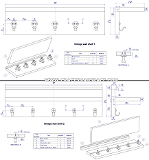 Coat Rack Shelf Plans Plans Wall Mounted Coat Rack Plans 29