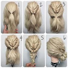 21 Super Easy Updos For Beginners účesy Zapletené Vlasy Vlasy A