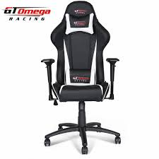 gt omega pro racing office chair black next white leather office chair white leather77 white