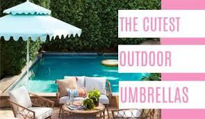 the cutest outdoor umbrellas outdoor