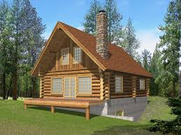 Log Cabin Home Plan The Whitepass Design Homes Kits Plans And