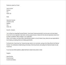 Letters Of Recommendation Personal 11 Personal Letter Of Recommendations Free Sample