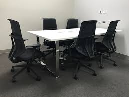 posh office furniture. Bolon Carpet, Posh Imagine Desk, Herman Miller Sayl And Activity Chairs, Jeb Partitions Office Furniture A